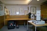 Imaging equipment and paintings