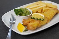 Taste NTU food fish and chips