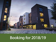 Picture of building with caption 'booking for  2016/17