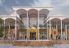 A picture of the planned new entrance on Clifton campus