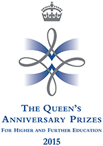 The Queen's Anniversary Prizes logo