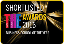 Times Higher Education Business School of the Year 2016 nomination