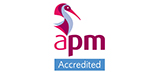 Association for Project Management Accredited logo