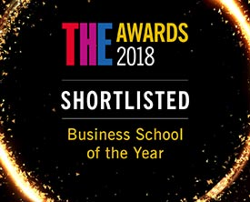 Times Higher Education Awards 2018 Shortlisted: business school of the year