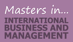 Master's in International Business and Management