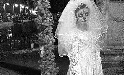 La Llorona 'the weeping woman' taken by Dr Fuller