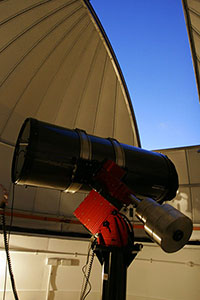 Inside the Trent Astronomical Observatory