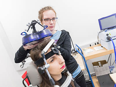 Transcranial Magnetic Stimulation laboratory