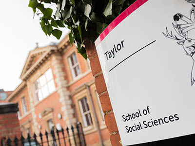 Front of NTU Taylor building