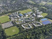 Aerial image of Clifton campus