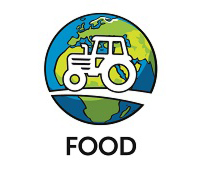 Sustainability in practice - Food logo
