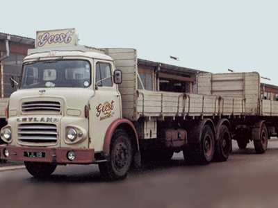 One of many Geest delivery trucks.
