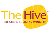 The Hive's new logo with 'r' included