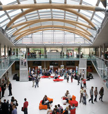 Newton and Arkwright atrium