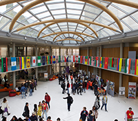 Global Week in Newton building