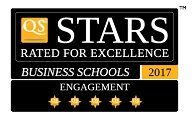 5 QS stars for Engagement