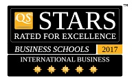 5 QS stars for International Business