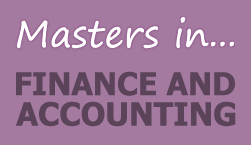 Master's in Accounting and Finance